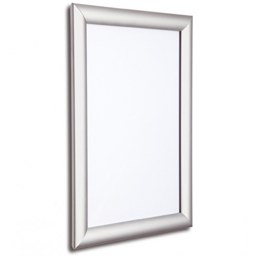 20x30 Silver Snap Frame, 25mm
