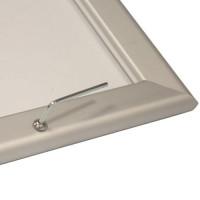 Secure Snap Frames, Lockable, Tamper-Resistant